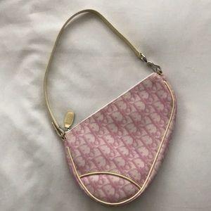 FINAL PRICE 🔥Vintage Dior Saddle Bag Pink